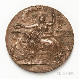 1896 Olympic Bronze Participation Medal