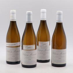 Jean Boillot Puligny Montrachet Clos de la Mouchere 2000, 4 bottles