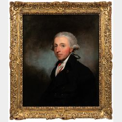 Gilbert Stuart (American, 1755-1828)      Portrait of a Man, Said To Be Theophilus Jones (1759-1812)