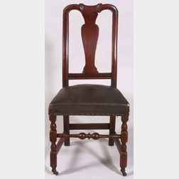Queen Anne Maple Carved Side Chair