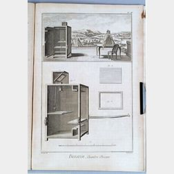 Volume of  Engraved Plates on Dessein