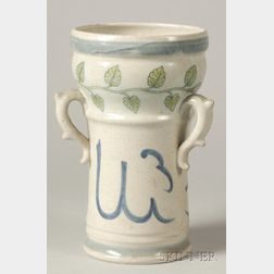 Catagalli-style Hispano-Moresque Earthenware Vase