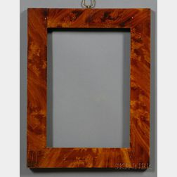 Grain Painted Wooden Frame