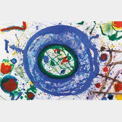 Sam Francis (American, 1923-1994)    Untitled
