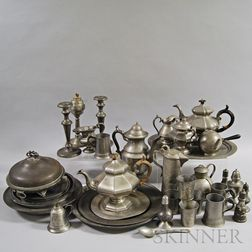 Approximately Forty Pieces of Pewter
