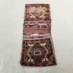 Complete Pair of Baluch Saddlebags