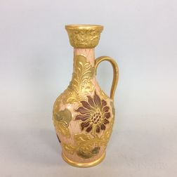 Wedgwood Floral-decorated Ceramic Pitcher