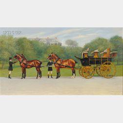 Alexander Pope (American, 1849-1924)      Albert Smith Bigelowe Coach