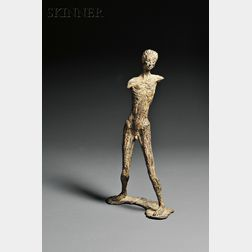 Kahlil George Gibran (American, 1922-2008)      Walking Man