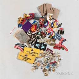 Group of Commonwealth and American Patches and Insignia
