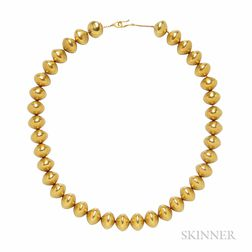 18kt Gold Necklace, Barry Kieselstein-Cord