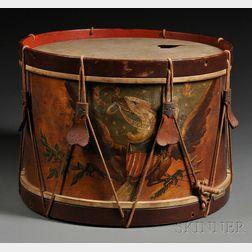 Civil War Era Drum and Sword