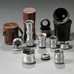 Nine Lenses for Robot Camera