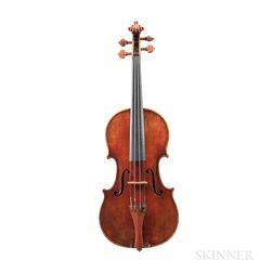 Czech Three-quarter Size Violin, John Juzek, Prague, 1910