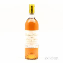 Chateau Climens 1986, 1 bottle