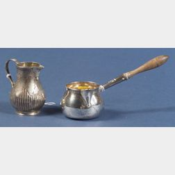 Two Small English Silver Tablewares