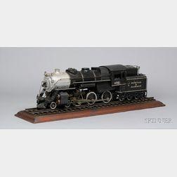 "Live Steam Model Boston and Albany ""402"" Locomotive"