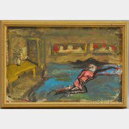 Zwi Milshtein (Israeli, b. 1934)      The Dream