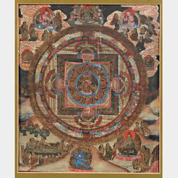 Small Thangka