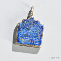 Silver Talisman Pendant