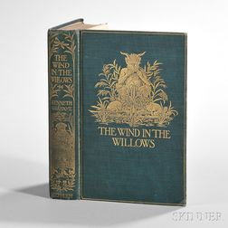 Grahame, Kenneth (1859-1932) The Wind in the Willows,   with Clipped Signature Laid in.