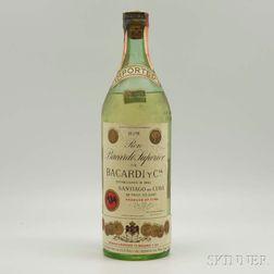Bacardi Carta Blanca Superior, 1 4/5 quart bottle