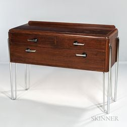 Art Deco Sideboard on Chromed Hairpin Legs