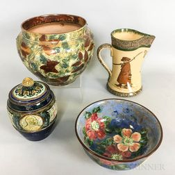Four Doulton Ceramic Items