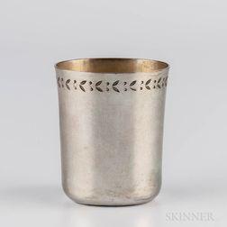 Northern European Silver Beaker