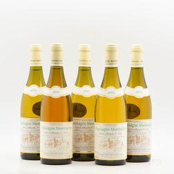Bernard Morey Chassagne Montrachet Les Caillerets, 5 bottles