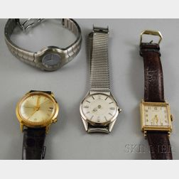 Four Assorted Wristwatches