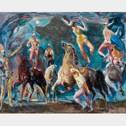 Jon Corbino (American, 1905-1964)      Circus