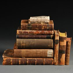 Medical Books, Eleven Volumes: