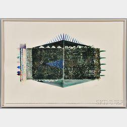 John McNamara (American, b. 1950)      Untitled Abstract Drawing