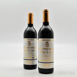 Chateau Pichon Longueville Lalande 1995, 2 bottles