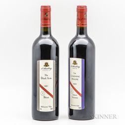 dArenberg, 2 bottles