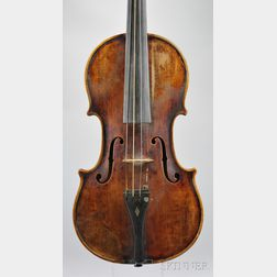 Czech Violin, John Juzek Workshop, Prague, c. 1930