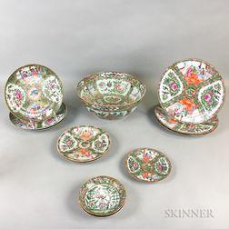 Thirteen Rose Medallion Items