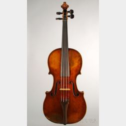 French Violin, c. 1860, Vuillaume School