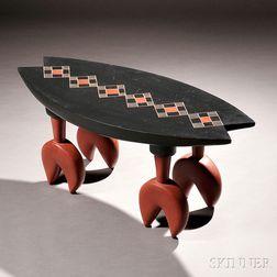 Andy Buck Studio Furniture Milk-painted Table