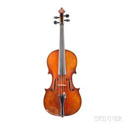 Modern German Violin, Ernst Heinrich Roth, Markneukirchen, 1925