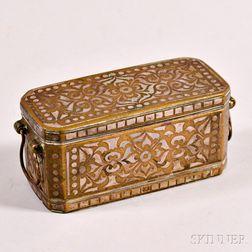 Brass Betel Nut Box