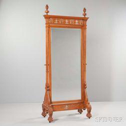 Renaissance Revival Cheval Mirror