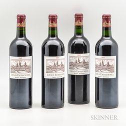 Chateau Cos dEstournel 2005, 4 bottles