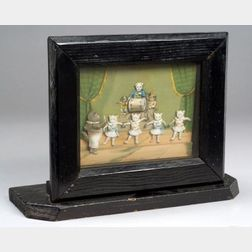 Coin-Operated Picture Automaton of a Cat Ballet