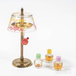 Perfume Hi-Lights Perfumes by Stuart in Brass Lamp