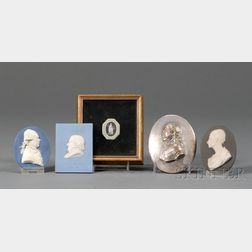 Five Assorted Wedgwood Medallions