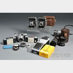 Collection of Cameras and Accessories