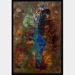Jamali (American, b. 1944)      Abstract.