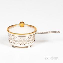 Lenox Porcelain and Gorham Co. Sterling Silver Covered Ramekin Set